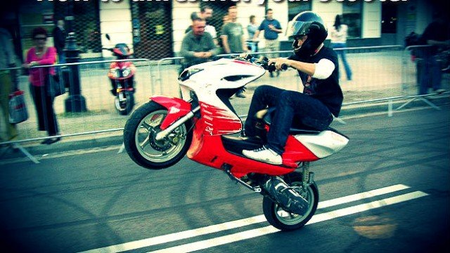 How To Derestrict A 50cc Scooter Tuningmatters Com