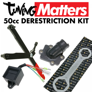 50cc Scooter Derestriction Kit